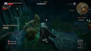 The Witcher 3 walka z porońcem(PC)[HD](PL)