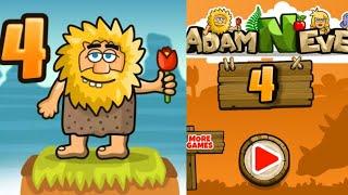 adam and Eve 4 Full Walkthrough (Адам и Ева 4) - прохождение игры