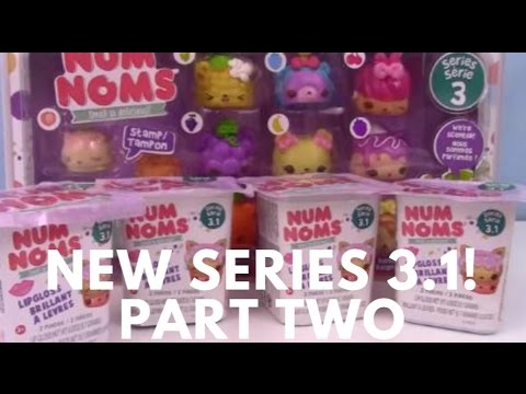New Num Noms 3.1 Lunchbox and Blind Bags! Orange, Peppermint, Maple Glaze, Grapes, Kawaii! Review
