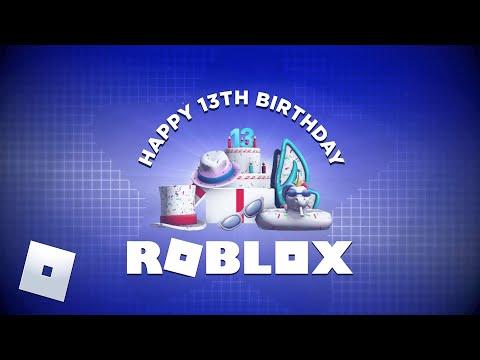 Happy 13th Birthday Roblox Roblox Blog