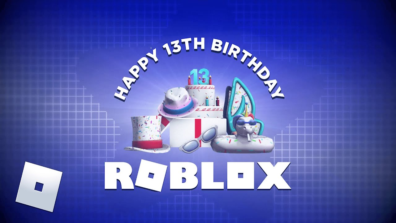 Roblox's 13th Birthday Celebration