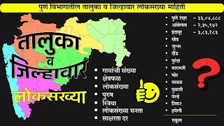 Maharashtra Census 2011 | District & Taluka wise Population |
