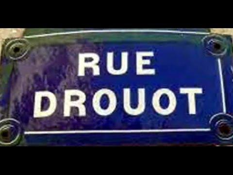 Rue Drouot Paris  Arrondissement 9e