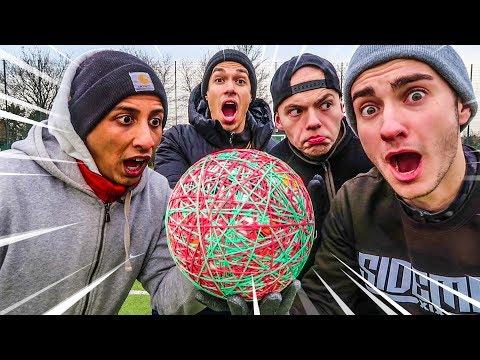 EPISCHE GUMMI BALL FUßBALL CHALLENGE! (500 Gummibänder)