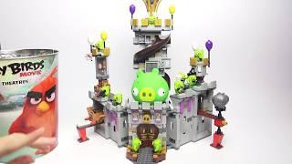 Лего Злые Птички против свинок Обзор LEGO Angry Brirds Видео для детей