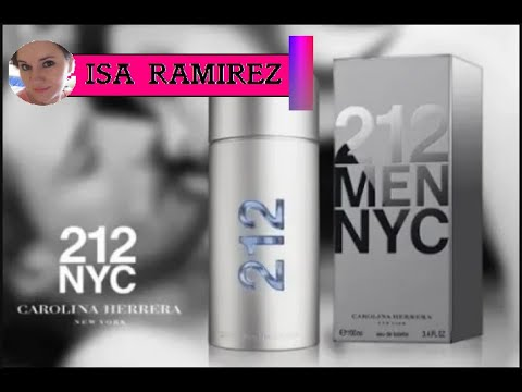 Reseña De Perfume 212 Men Nyc Carolina Herrera Youtube