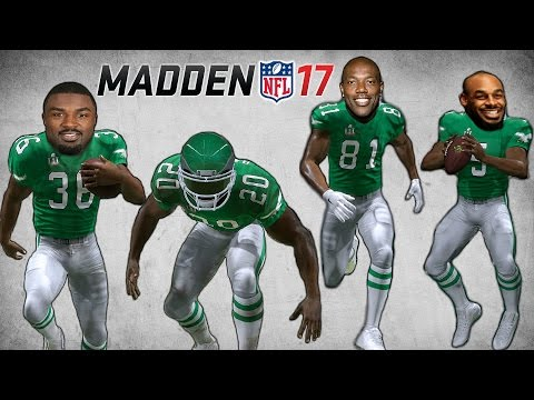 CAN DONOVAN MCNABB, T.O., BDAWK AND WESTBROOK WIN A SUPERBOWL TOGETHER IN MADDEN 17?!