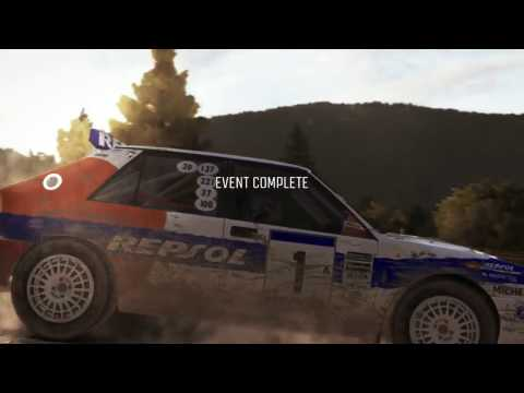 Dirt Rally (PC) Daily Stages and General Bad Driving.
