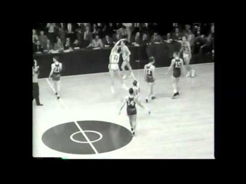 Greatest Moments in NBA History - Bob Pettit in 1958 NBA Finals