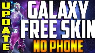 Fortnite How To Get Galaxy Skin without Phone FREE ( Emulator ) UPDATE! & Store Method