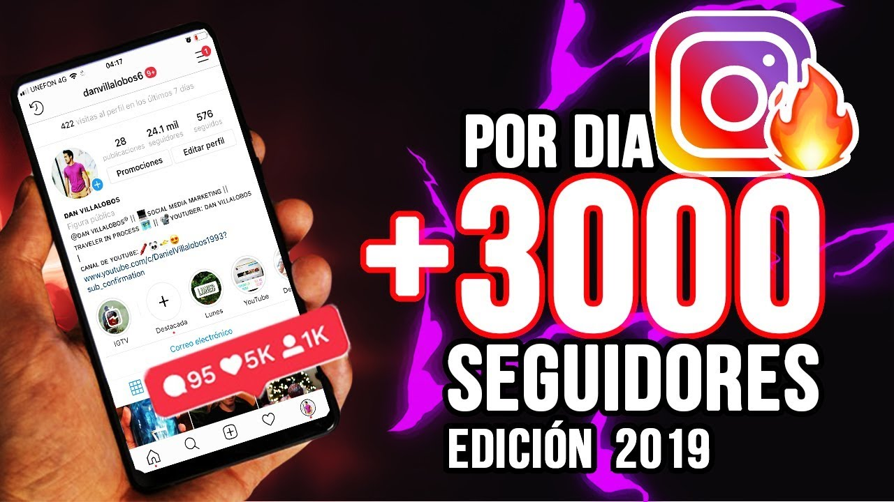 Como Conseguir 3000 Seguidores En Instagram Facil 100 Real Youtube