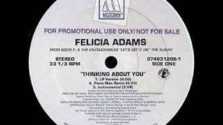Felicia Adams - Thinking About You