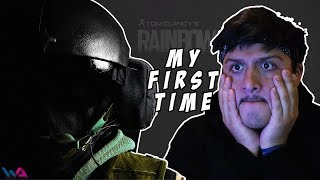 My first time playing Rainbow 6 Siege