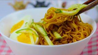 비빔국수 Spicy Noodle Korean Stree…