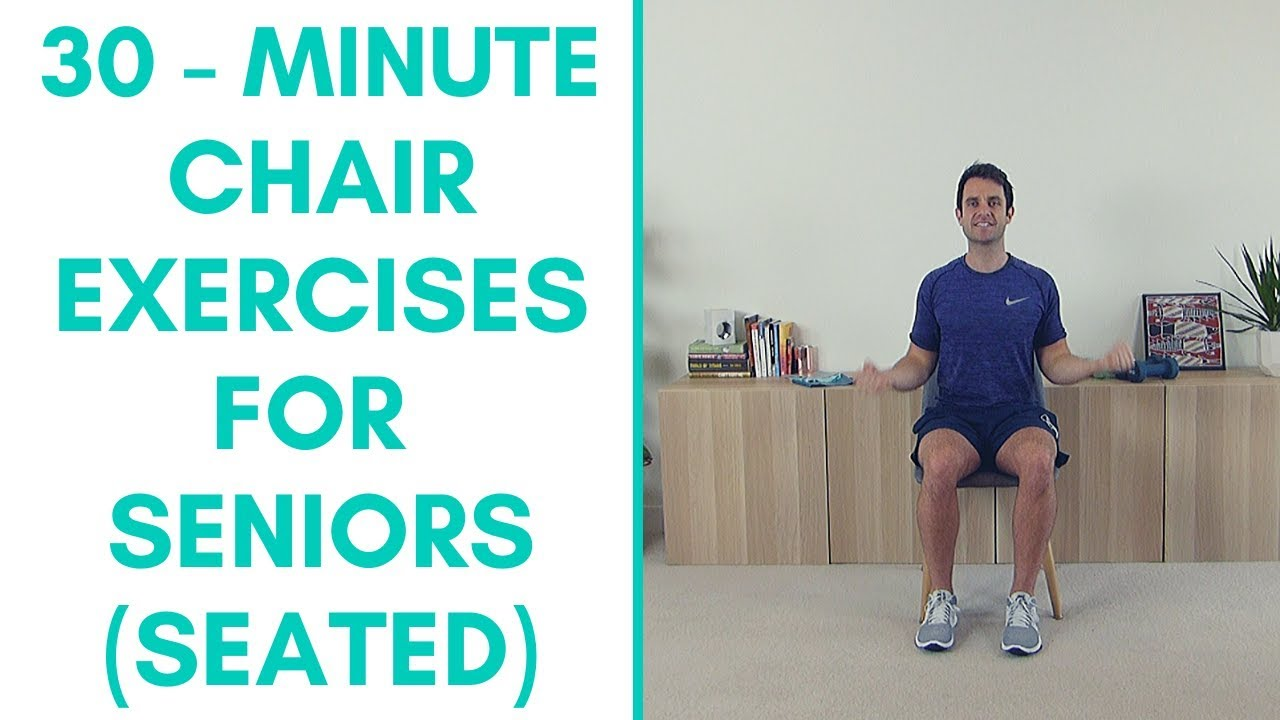 Whole Body Chair Exercise For Seniors (30 Minutes) | More Life Health