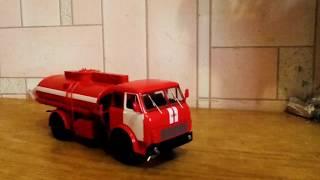 МАЗ-5334.АЦ 8 - Пожежний для транспортування і тимчасового зберігання пального для наземної техніки.