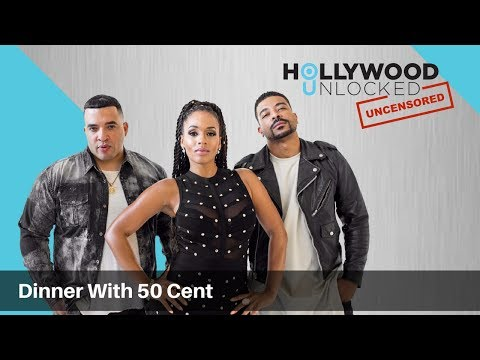 Talking Dinner with 50 Cent & Gio's New Girl on Hollywood Unlocked [UNCENSORED]
