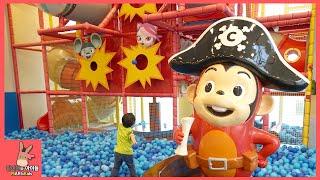 뽀로로 장난감 잠수함 찾기 코코몽 키즈 카페 어린이 놀이 ♡ 미끄럼틀 팡팡 테마 파크 죽전점 #5 Kid Indoor Playground | 말이야와아이들 MariAndKids