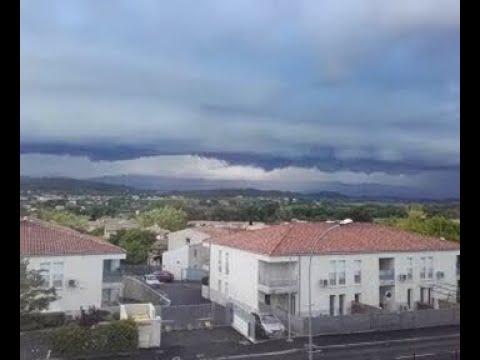 Orage et Arcus - Près de Carpentras - Provence-Alpes-Côte d'Azur (France)  le 02/05/2017