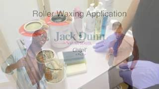 Jack Dunn Male Waxing - Roller Waxing Methods with Cirepil by Perron Rigot Waxes