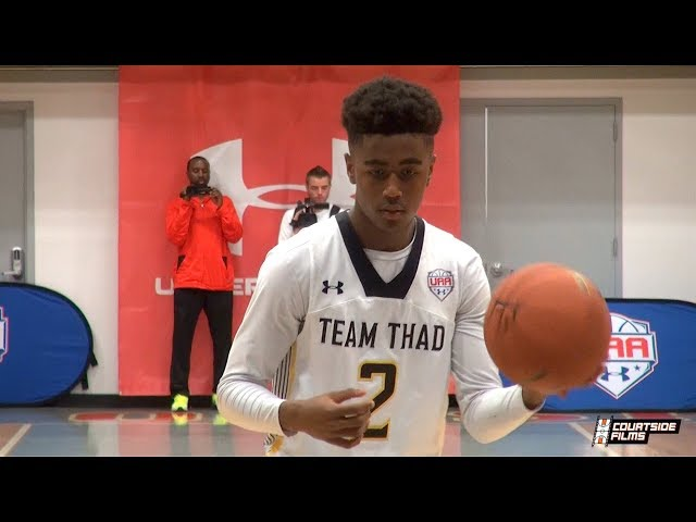 Jordan Bone Back In AAU With Team Thad! One of the most electric scorers in the 2019 NBA Draft!