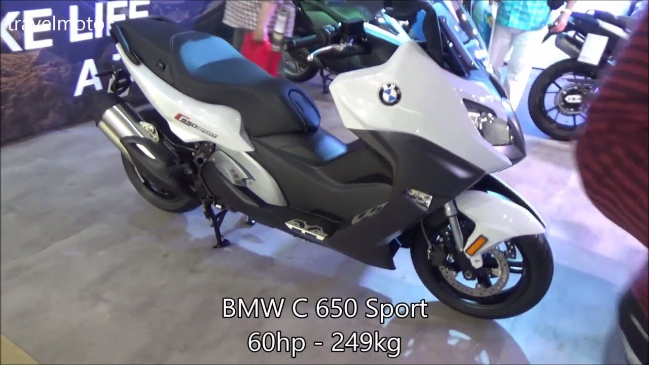 Bmw C 650 Sport Scooter 2017
