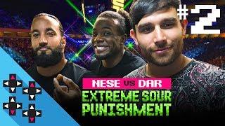 INJUSTICE 2: TONY NESE vs. NOAM DAR - Sour, Spicy Candy Challenge Round 2! - Gamer Gauntlet