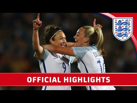 England Women 1-1 Italy Women (2017 Friendly) | Official Highlights