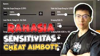EVOS-EJ SETTING PUBG Mobile RASA CHEAT AIMBOT! Training Quick Scope/Sensitivitas/ADS/Gyroscope!