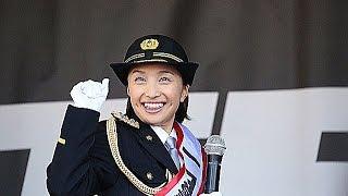 百田夏菜子 小平警察署一日署長として防犯宣言に登場!