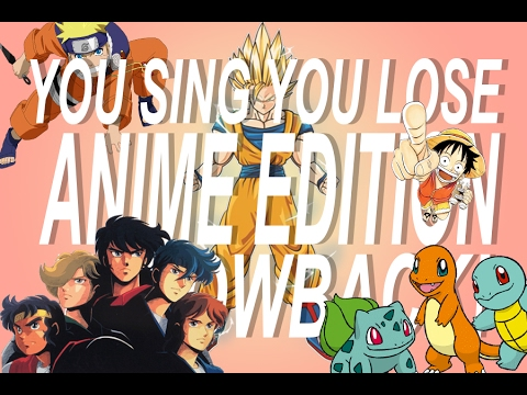 IF YOU SING YOU LOSE CHALLENGE: ANIME EDITION 3 THROWBACK!