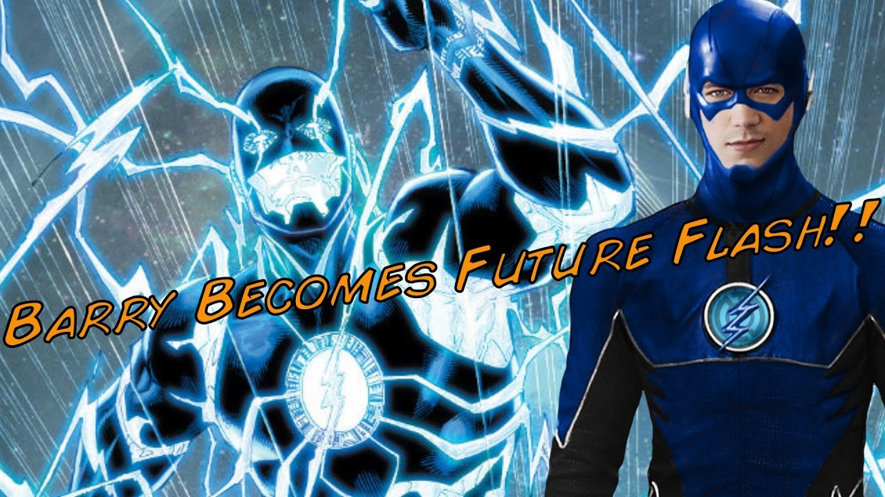 3 Flash Barry Becomes Future Blue Flash The Flash Season 3 Episode 10 Crazy Wtf Theory