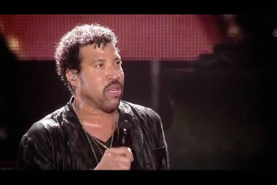 Lionel Richie Say You Say Me Official Live Video Hd Youtube