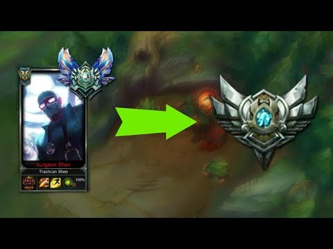 How to HARD CARRY with Shen in SILVER! League of Legends