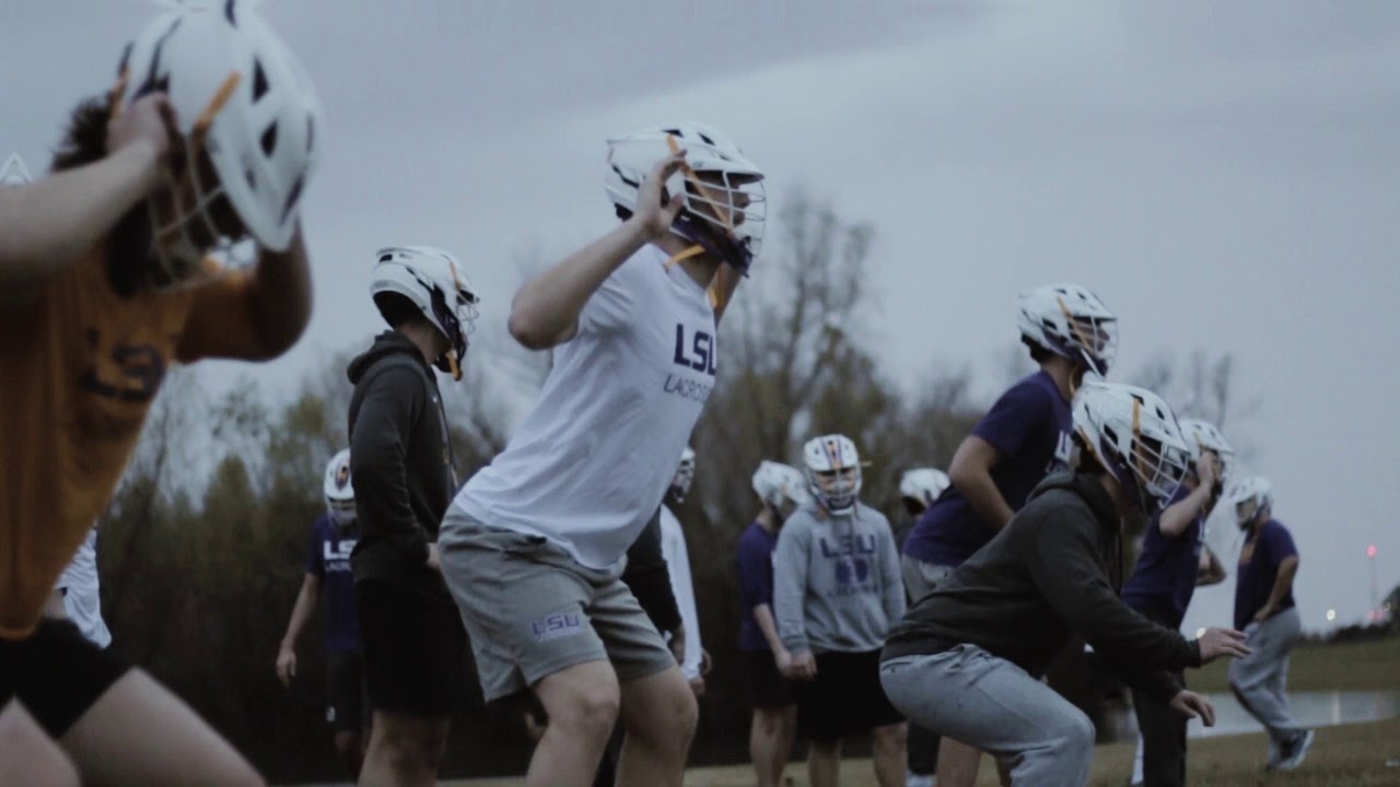 LSU Lacrosse Training Camp 2019