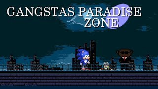 Sonic The Hedgehog Movie - Gangsta's Paradise (Sega Genesis Remix)