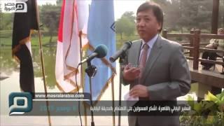 مصر العربية | السفير الياباني بالقاهرة: اشكر المسئولين على الاهتمام بالحديقة اليابانية
