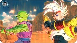 Piccolo and Baby Vegeta FUSION - Gogeta VS Super Baby Piccolo