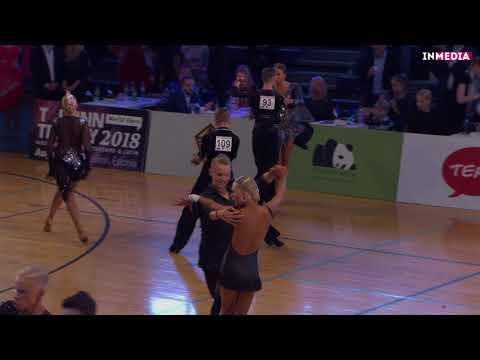 Leho Holm - Marleen Lutter | R2 Paso Doble | Eesti Meistrivõistlused 2018