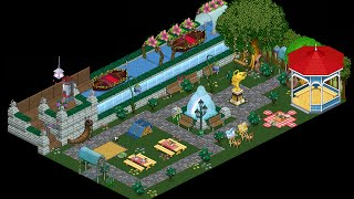 Habbo : How To Build A Park (Tutorial)