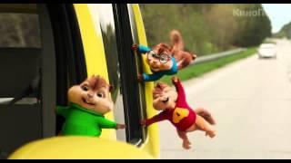 Элвин и бурундуки 4 русский трейлер -  Alvin and the Chipmunks: The Road Chip treyler 2015