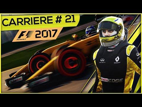 F1 2017 (FR) - Mode Carrière #21 - Multi 54