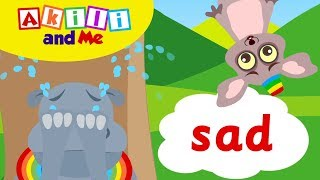 The Sad Song and the Happy Song! | Akili and Me | African Preschool Songs