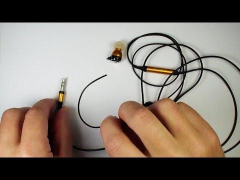 Как починить вакуумные наушники