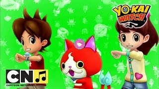Un danois coreografia de Yo-Kai Watch Yo-Kai Watch | Cartoon Network