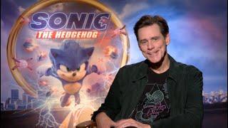 Sonic The Hedgehog interviews - Jim Carrey, Ben Schwartz and James Marsden