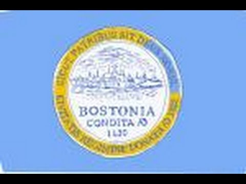 How to draw the Flag of Boston, Massachusetts USA
