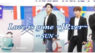 18.09.24 MAP6《Love is gone~JP.ver~》SUN(?)CAM @神戸ワールドフェスティバル2018