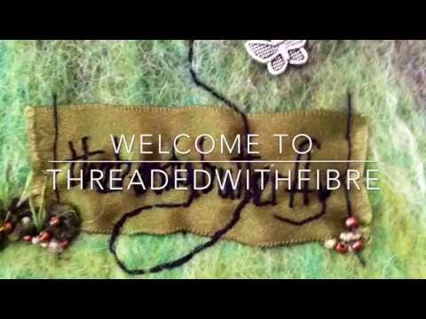 Threadedwithfibre. Ep. 16 Welcome tour and lots of knitting X