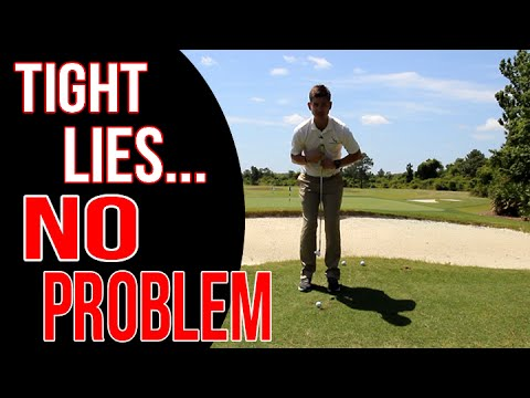 How To Chip Off A Tight Lie Like A Boss